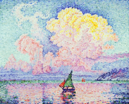 Antibes, The Pink Cloud