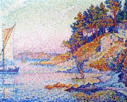 Saint Tropez. The Calanque, 1906