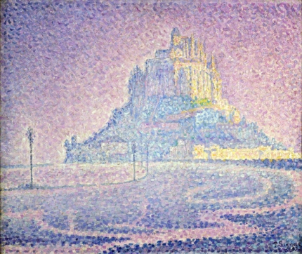 Mont Saint-Michel, Fog And Sunlight