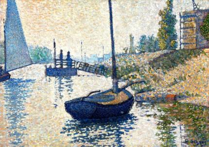 Le Ponton De La Félicité. Asnières (Opus No. 143)