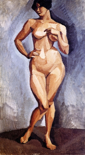 Standing Nude Facing Forward