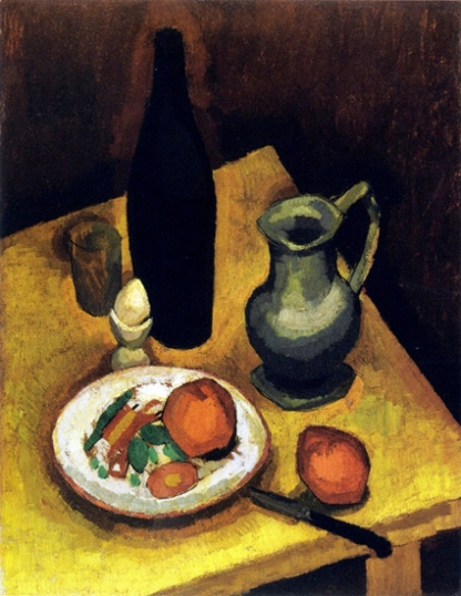 Still LIfe with Egg Cup