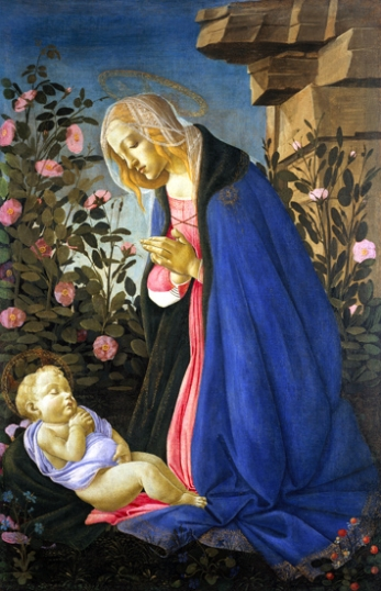 Madonna in front of a sleeping Christ 1485