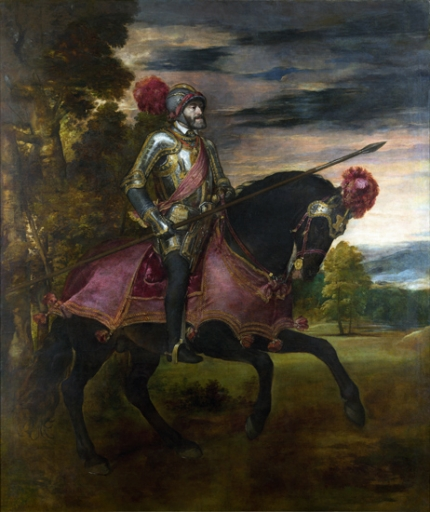 Equestrian Portrait of Charles V 1548