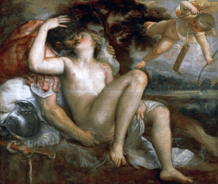 Mars, Venus and Amor 1530