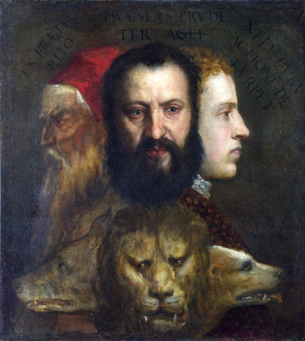 Allegory of Time Governed by Prudence