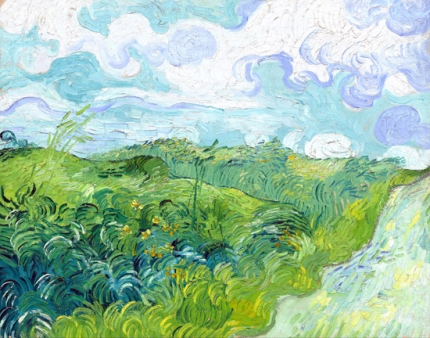 Green Wheat Fields, Auvers 1890