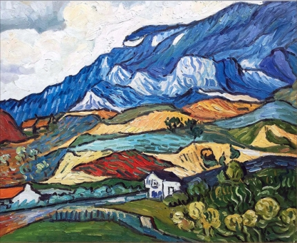 Les Alpilles, Mountain Landscape Near Saint Remy