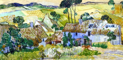 Farms Near Auvers 1890