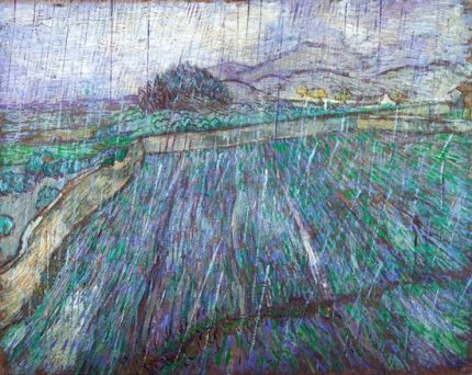 Wheat Field In Rain 1889