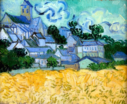 View Of Auvers-Sur-Oise, 1890
