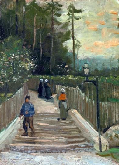 Path In Montmartre