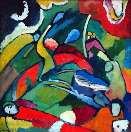 Two Riders And Reclining Figure