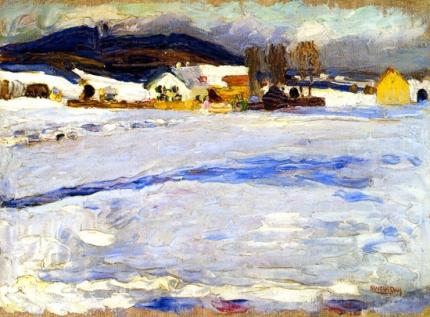 Bei Starnberg - Winter