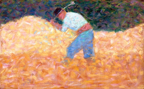 The Stone Breaker by Georges Seurat