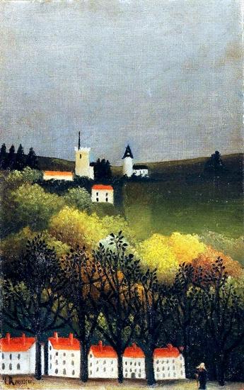 Landscape by Henri Rousseau