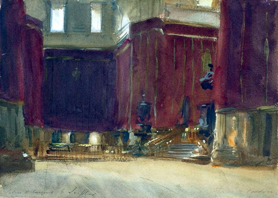 Cordova-Interior of the Cathedral 1903 by ジョン·シンガー·サージェント
