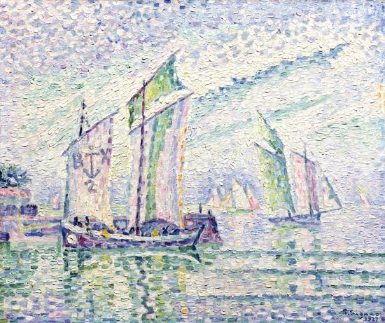 Le Chenal De La Rochelle by ポール·シニャック