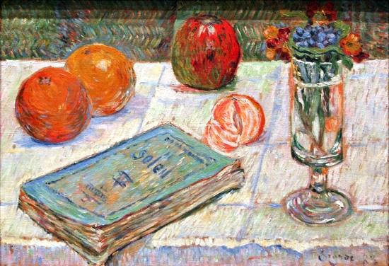 Still Life 1883 by Paul Signac