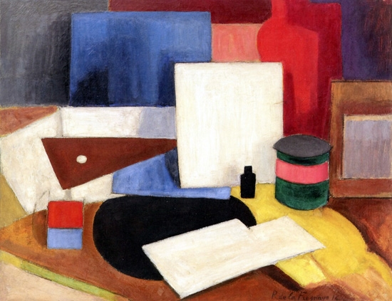 Nature Morte a l'Equerre by Roger Fresnaye