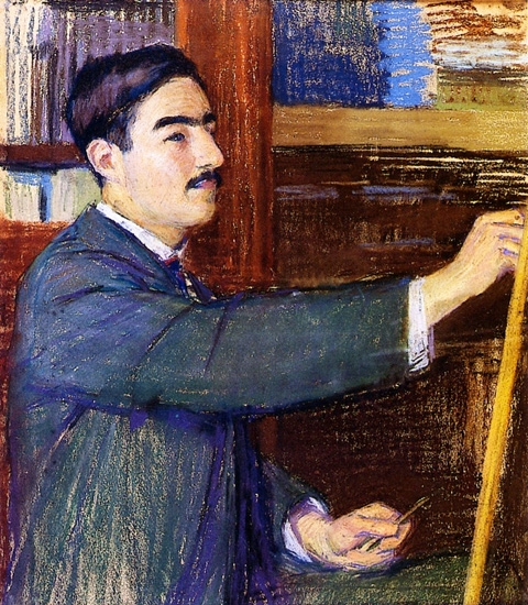 Georges de Mire at the Easel by Roger Fresnaye
