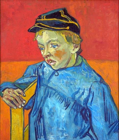 The Schoolboy (The Postman´s Son – Gamin Au Képi) 1888 by Vincent Van Gogh