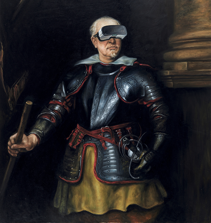 Portrait of a Man in Armor by Anthony van Dyck